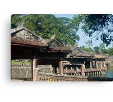 Temples Canvas Print