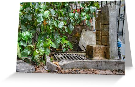 Public Pump in Nassau, The Bahamas by Jeremy Lavender Photography
