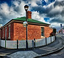House on the Street Corner by JohnKarmouche