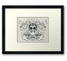 Sugar Squid Framed Print