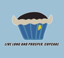 LIVE LONG AND PROSPER, CUPCAKE parody by M. E. GOBER