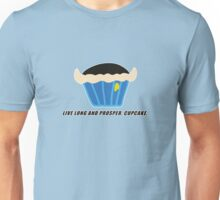 LIVE LONG AND PROSPER, CUPCAKE parody Unisex T-Shirt