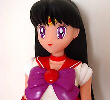 Sailor Mars Doll iPhone Case by bunnyparadise