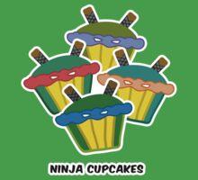 NINJA CUPCAKES parody by M. E. GOBER