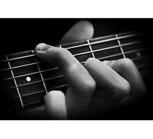 The Classical Guitarist Photographic Print
