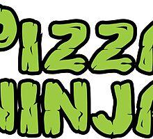 Pizza Ninja Sticker by DWS-Store