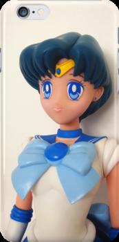 Sailor Mercury Doll iPhone Case by bunnyparadise