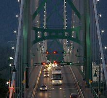 Lion's Gate Bridge by Sheri Bawtinheimer