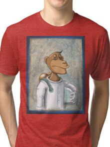 monkey business Tri-blend T-Shirt