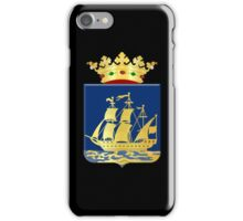 Coat of arms of IJlst iPhone Case/Skin