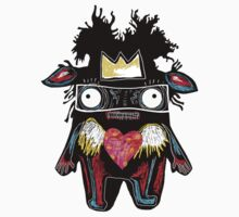 Basquiat Monster by alphabetty