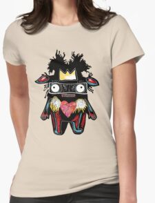 Basquiat Monster Womens Fitted T-Shirt