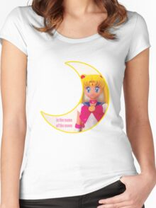In the Name of the Moon Doll Women's Fitted Scoop T-Shirt