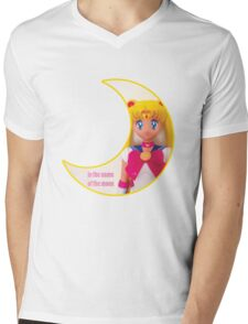 In the Name of the Moon Doll Mens V-Neck T-Shirt