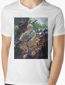 ~Astronaut Joe~ Mens V-Neck T-Shirt