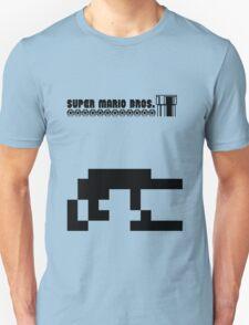 Super Mario Bros Minimal Design Unisex T-Shirt