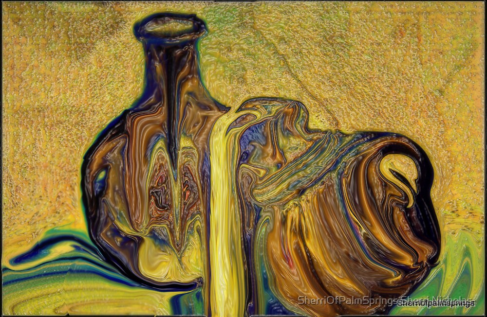 ANTIQUE POTTERY...SERIES by Sherri     Nicholas