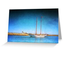 Nautical party Greeting Card