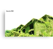 Suburbia 2080 Canvas Print