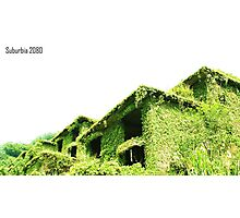 Suburbia 2080 Photographic Print