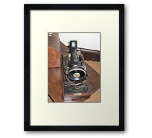Old Time Stitching  Framed Print