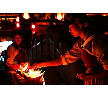 Naxi Candles - Lijiang, China Photographic Print