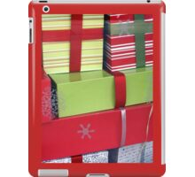 Lime and Red Christmas Packages iPad Case/Skin