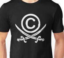 Copyright Piracy Unisex T-Shirt