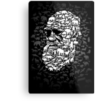 Darwin; Endless Forms Metal Print