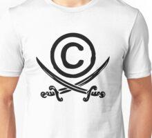 Copyright Piracy (Black) Unisex T-Shirt