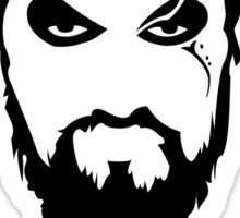 Khal Drogo Silhouette Game of Thrones Sticker