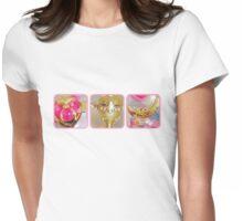 Sailor Moon's Battle Gear Womens Fitted T-Shirt