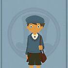 Professor Layton - Luke Triton by jindesign