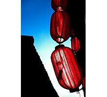 Red Lanterns - Lijiang, China Photographic Print