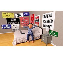 Start a Revolution From My Bed Photographic Print