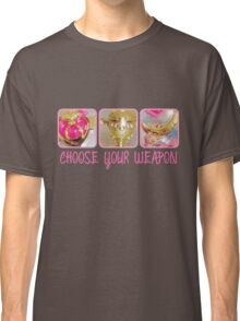 Choose Your Weapon Sailor Moon Style Classic T-Shirt