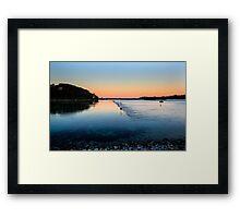 Tidal Flow Framed Print
