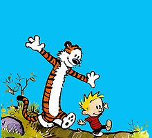 Calvin and Hobbes by RodMontalvo