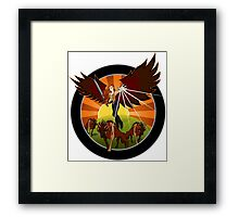 NROL-33 Payload Program Logo Framed Print