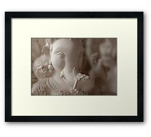 Moods of Lord Ganesh & the making of idols #2 Framed Print