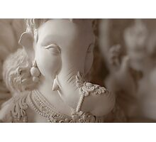 Moods of Lord Ganesh & the making of idols #2 Photographic Print