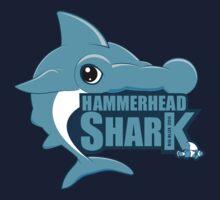 Shark, Blue Hammerhead Shark  One Piece - Long Sleeve