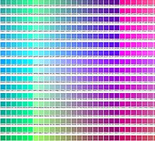 Hexidecimal Color Chart  by lillyybear