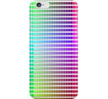 Hexidecimal Color Chart  iPhone Case/Skin