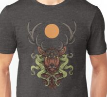 Cthulhu's Stag - Red Unisex T-Shirt