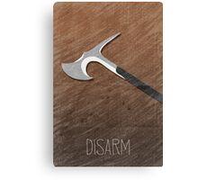 Tamriel Shout - Disarm Canvas Print