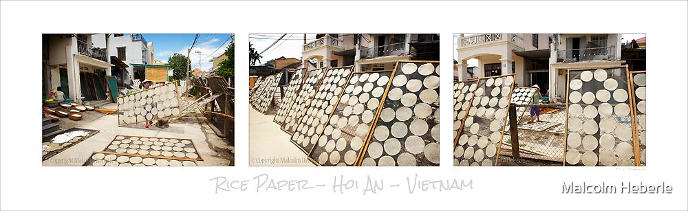 Rice Paper - Vietnam by Malcolm Heberle