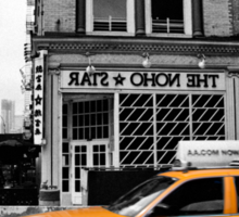 NoHo Star Yellow Cab Sticker