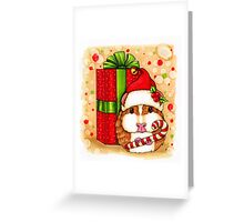 Guinea Pig Holiday Greeting Card