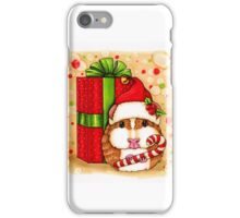 Guinea Pig Holiday iPhone Case/Skin